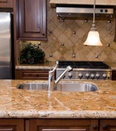 Granite Covered Countertops : Granite Counter Tops - Classic Carpet & Floor Covering (517) 546-0001